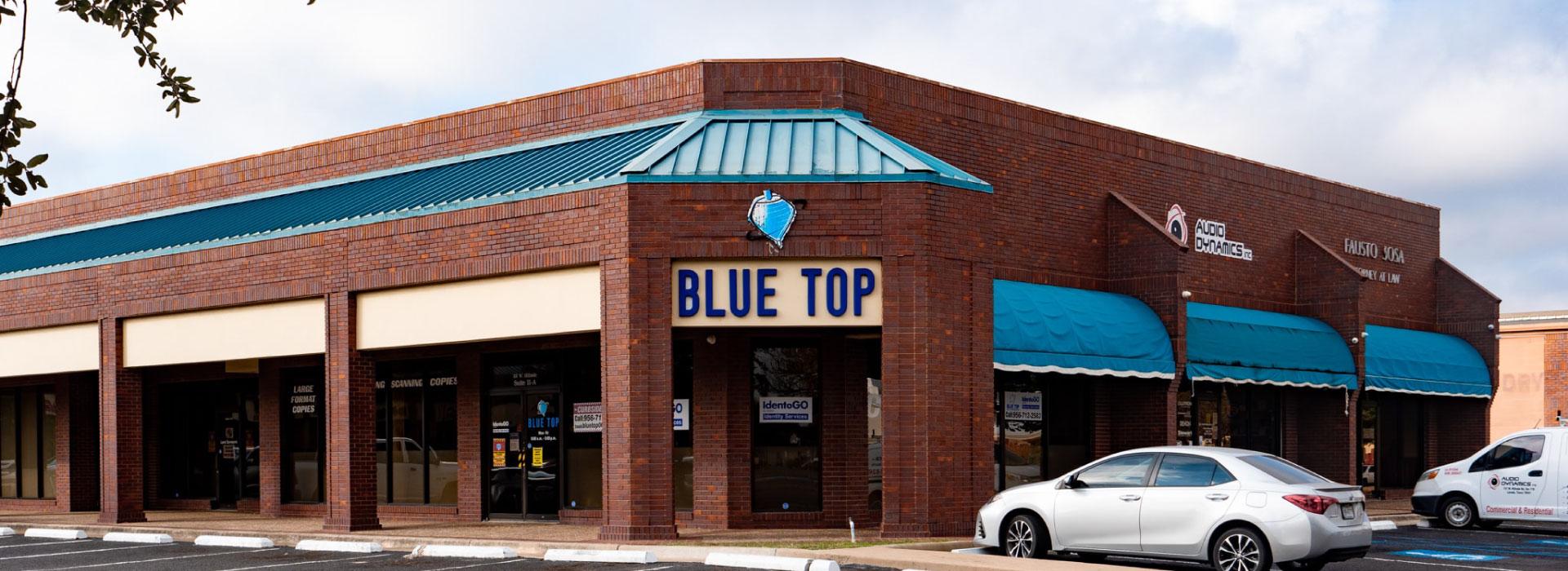Blue Top <br /> Digital Reprographics